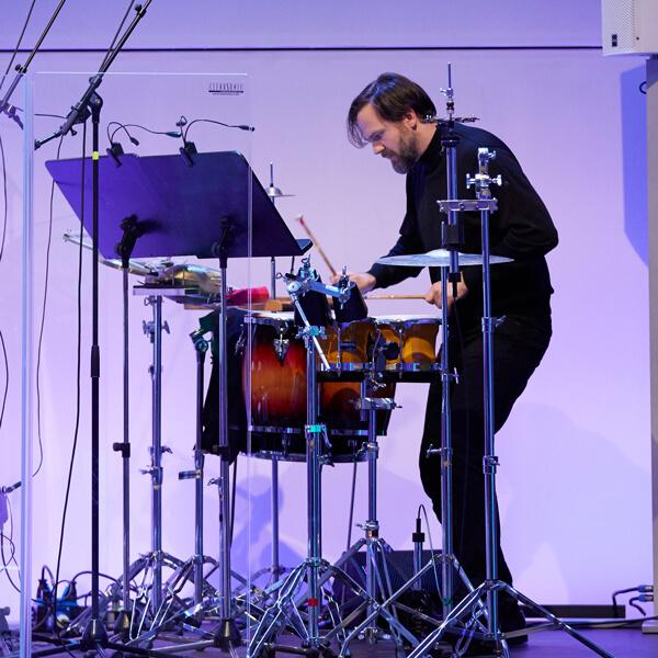 Martin Krause, Drums, Neue Meister Konzert